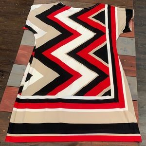 3 FOR $20 Studio One Geometric Design Dress XL